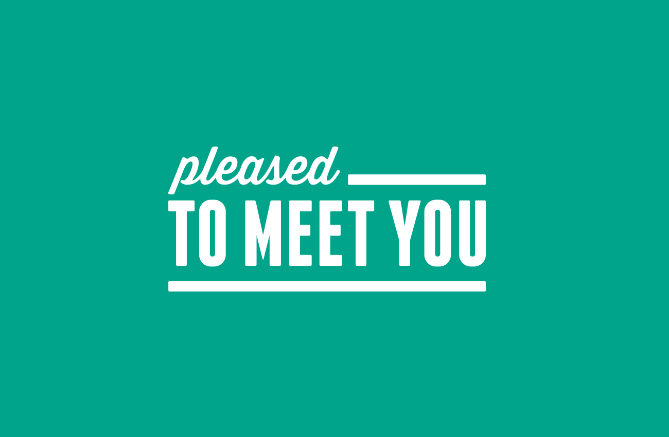 Pleased to Meet You logo