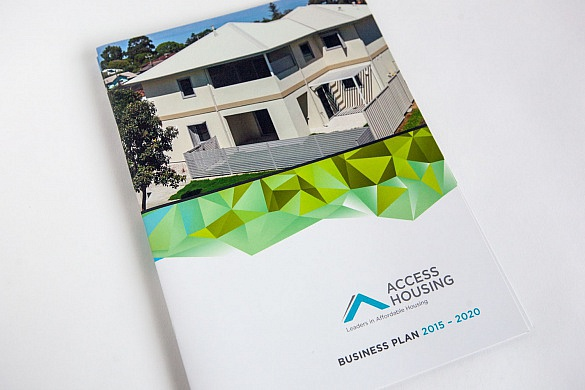 Access Housing Annual Report front cover