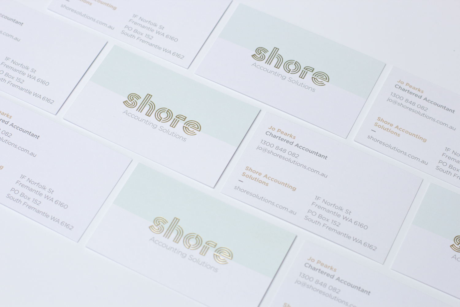 Shore Solutions Business Card
