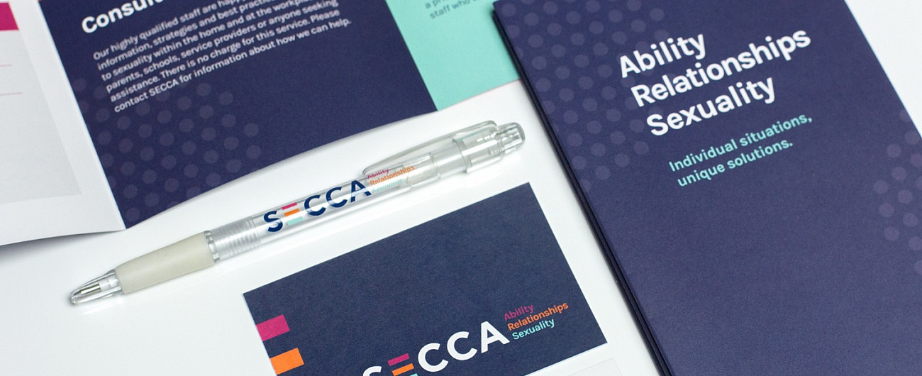 SECCA Brochure and stationery set