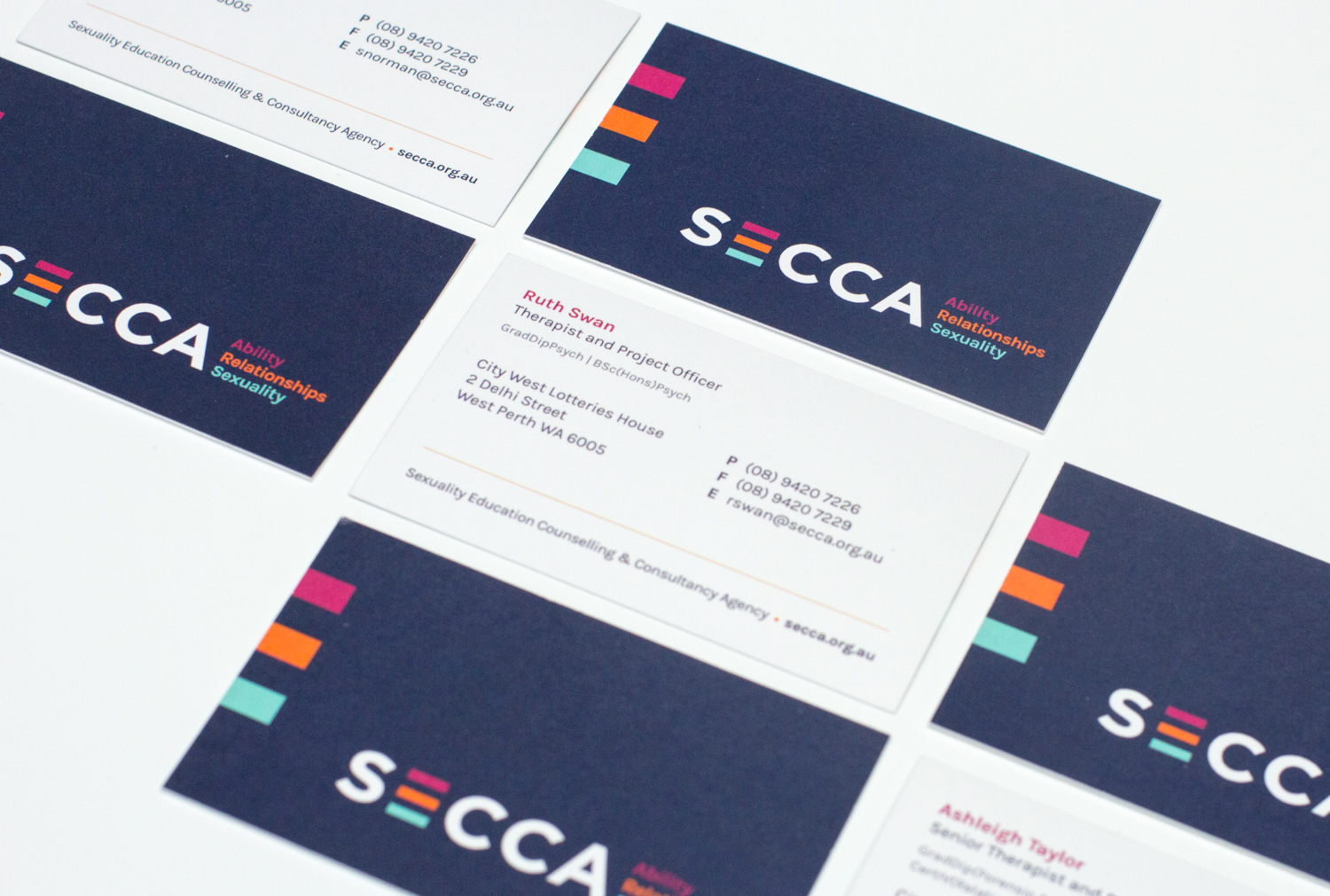 SECCA Business cards