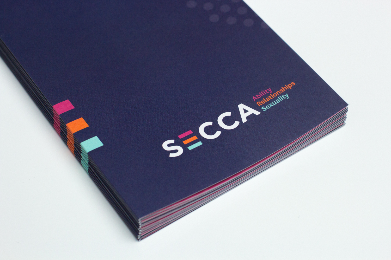 Closeup of SECCA Brochure