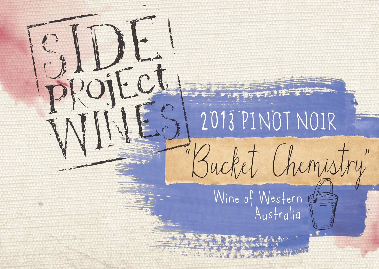 Side Project Wines pinot noir label