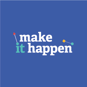 Media on Mars blog post thumbnail: Make it happen logo