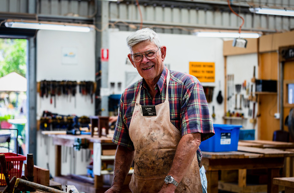 Media on Mars case study thumbnail: Men's Shed WA Feature Image